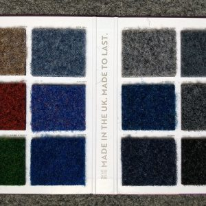 Sample Colours - Exterior Boat Carpets